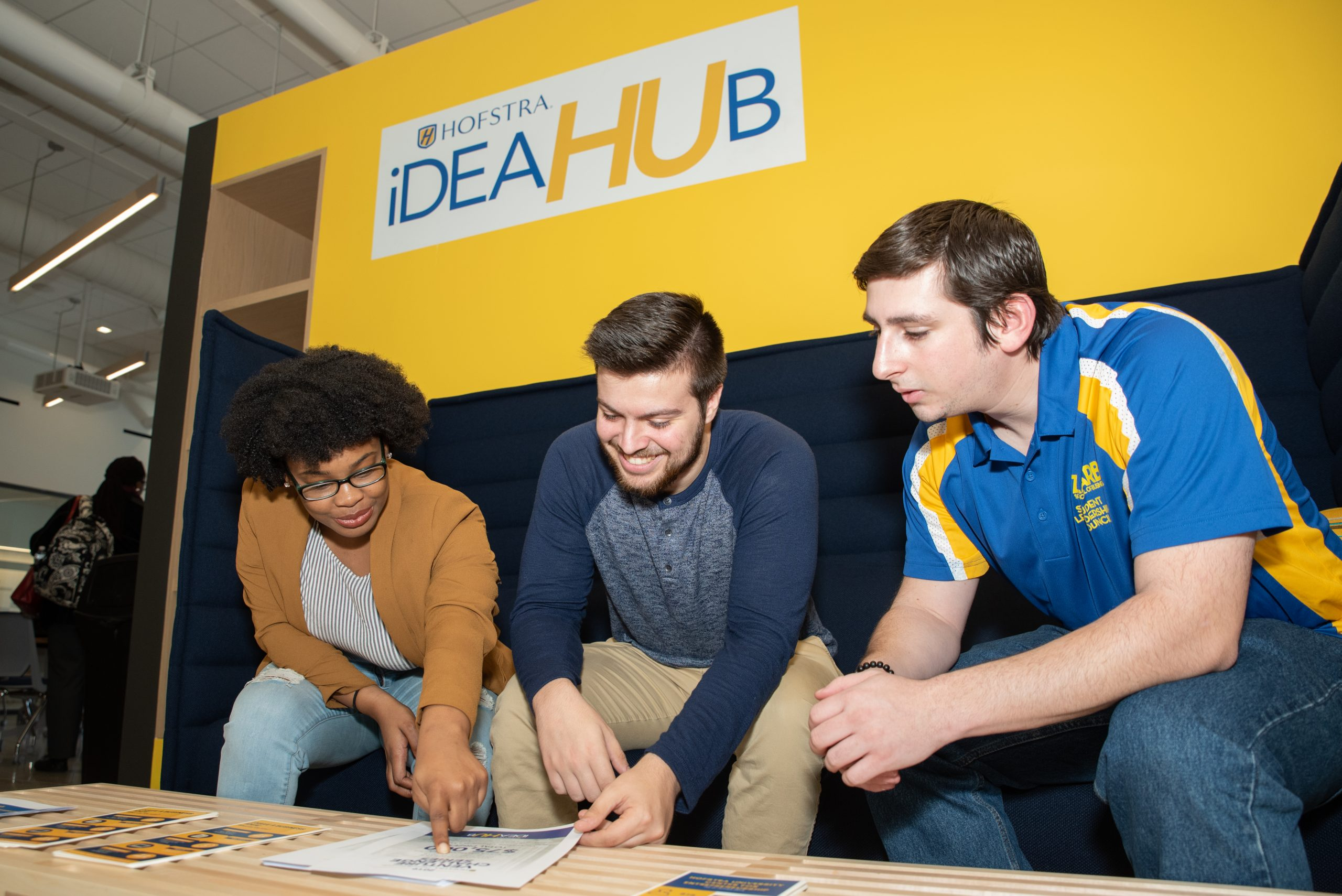 Students in ideaHUB